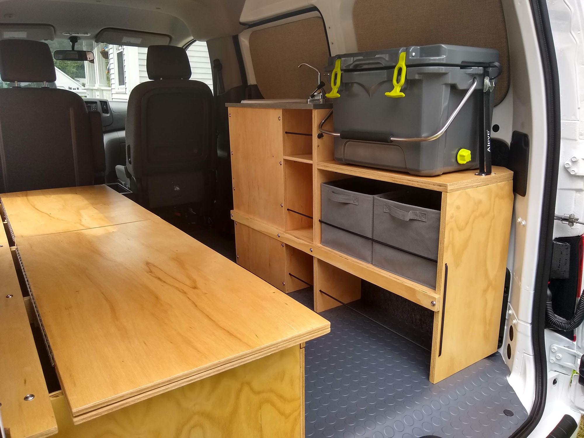 Nissan NV200 Camper Conversion - Bench 1