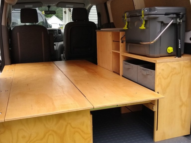 Nissan NV200 Camper Conversion - Bench 2