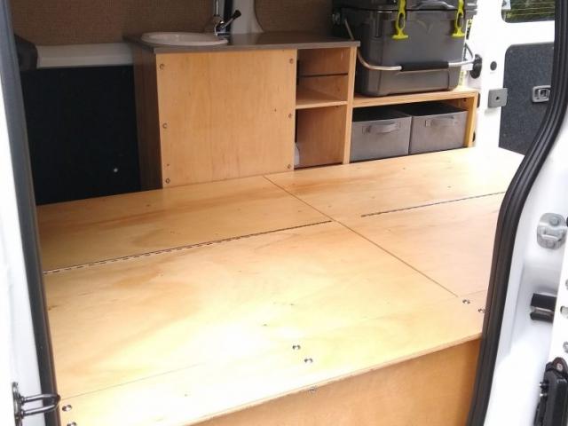 Nissan NV200 Camper Conversion - Bench 3