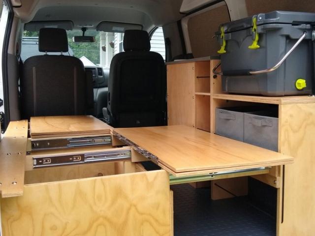 Nissan NV200 Camper Conversion - Bench 4