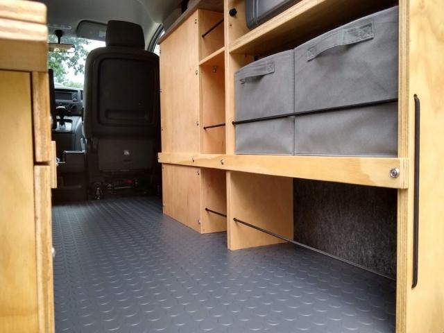 Nissan NV200 Camper Van Conversion - Floor 2