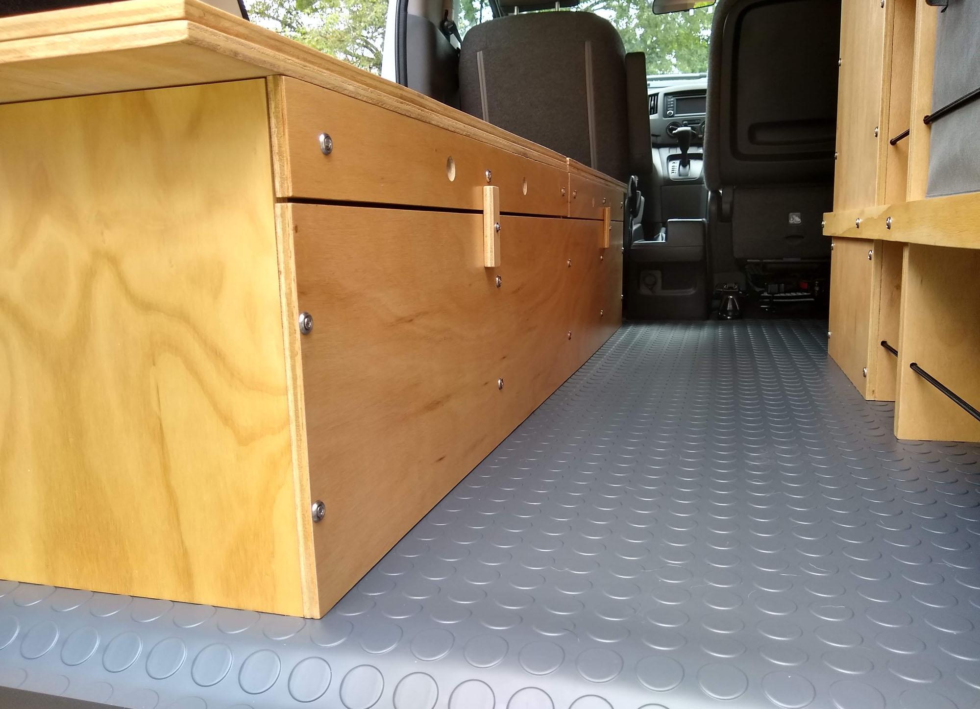 Nissan NV200 Camper Van Conversion - Floor 3