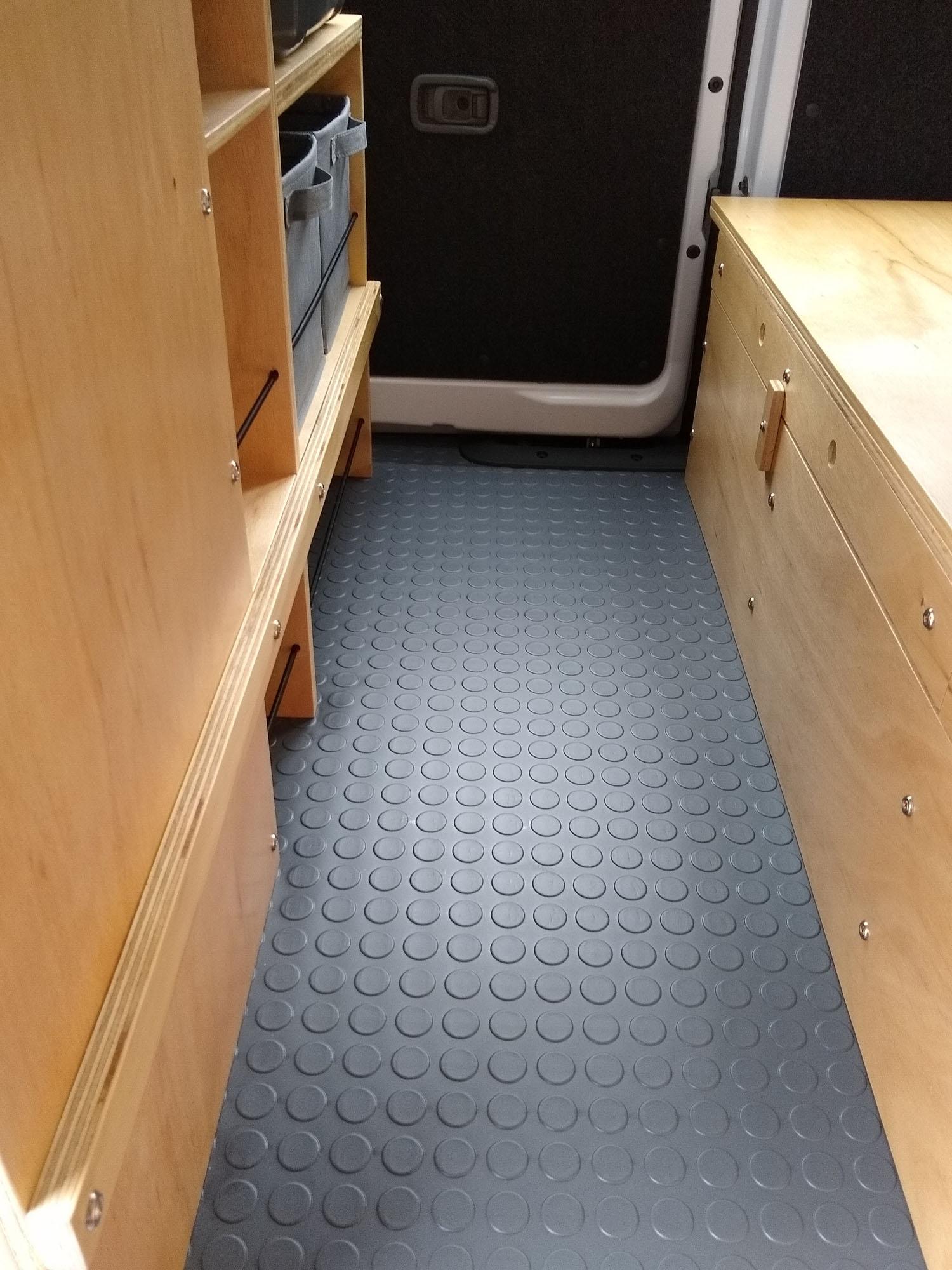 Nissan NV200 Camper Van Conversion - Floor 4